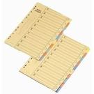 《享亮商城》1510 10段紙質分隔紙 A4 (10張/包)