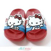 女童鞋 Hello kitty授權正版美型拖鞋 魔法Baby