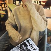 TCC 17秋季新款韓版潮流男士休閒簡約套頭針織衫寬鬆毛衣外套潮服【onecity】