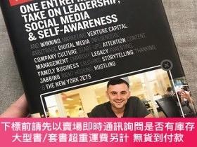 二手書博民逛書店#AskGaryVee:罕見One Entrepreneur s Take on Leadership, Soci