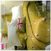 暢遊英國【兩用被+床包】(6*7尺)四件套*╮☆御芙專櫃/60支/高觸感絲光棉/特大