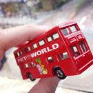 PGS7 日本卡通系列商品 - 日本 多美 Tomica 倫敦公車 英國 英倫 小汽車 小車車 玩具車【STJ6745】