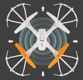 遙控飛機高清航拍直升機充電兒童無人機