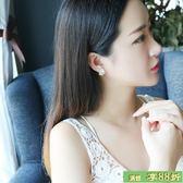 氣質優雅耳釘女日韓時尚迷你小清新花瓣鑲鋯石耳環甜美可愛耳飾品