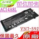 ACER 電池(原廠)-宏碁 AC14A8L,VN7-592G-76W7 ,VN7-592G-76XN,AC14A8L,3ICP7/ 61/ 80,VN7-592G,VN7-572G