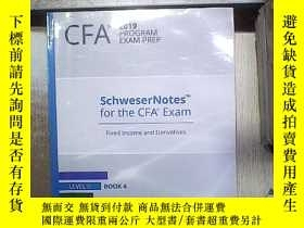 二手書博民逛書店CFA罕見2019 PROGRAM EXAM PREP FIXED INCOME AND DERIVATIVES
