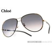 Chloe 太陽眼鏡 CL100SL 752 (黑色) 法式經典飛官款 墨鏡 # 金橘眼鏡