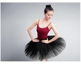 成人芭蕾舞演出服女黑天鵝湖半身TUTU裙蓬蓬裙硬網紗裙練功表演服 新年禮物