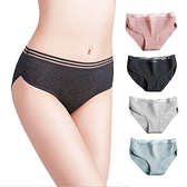 運動螺紋透氣內褲 無痕大碼中腰純棉三角褲-JoyBaby