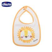 chicco-快樂動物-毛巾布圍兜-獅子