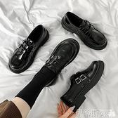 娃娃鞋 黑色小皮鞋女英倫風軟皮2021新款秋冬加絨百搭圓頭復古日系jk鞋子 非凡小鋪 新品