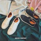運動板鞋低筒鞋男士休閒小白鞋時尚百搭潮流男鞋