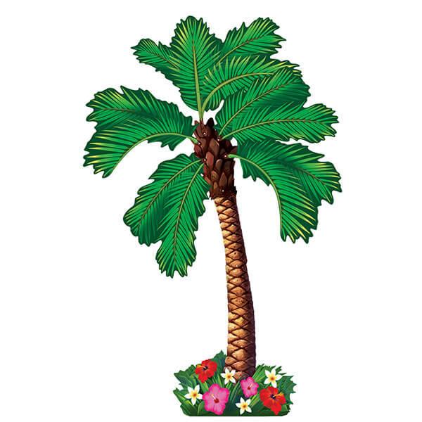 大型裝飾紙卡1入-椰子樹