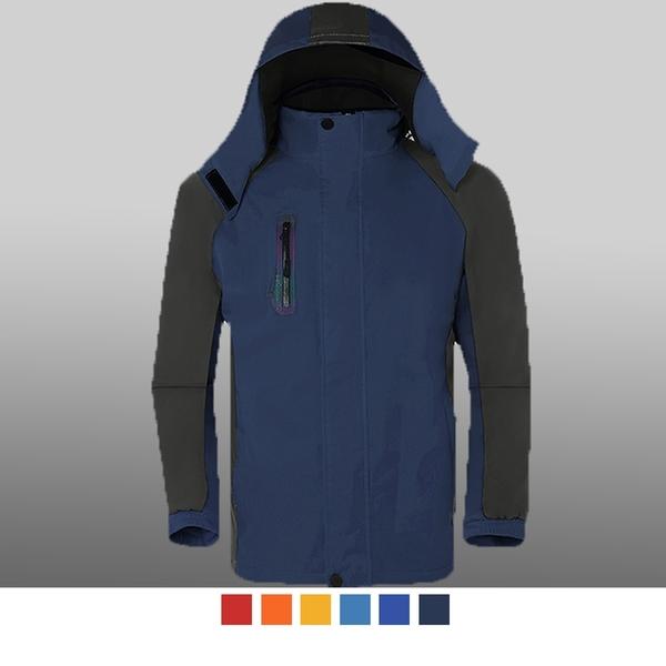 【晶輝團服制服】MF021*休閒單件式防風防潑水衝鋒外套(似GORE-TEX)可單買/ 代印公司LOGO