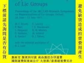 二手書博民逛書店Representation罕見Theory Of Lie GroupsY255562 Atiyah, M.