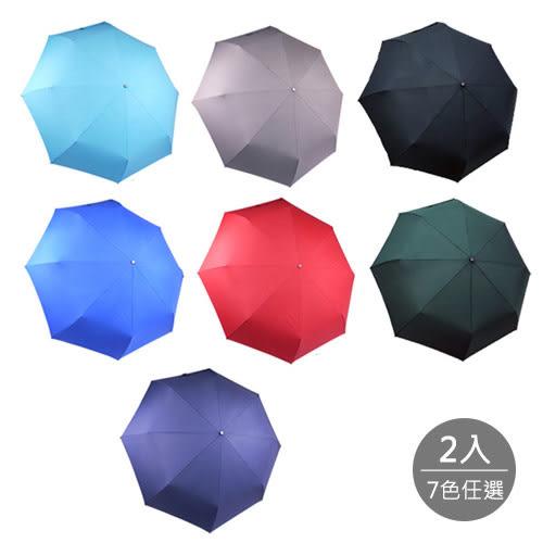 【Kasan】超大無敵時尚自動開收傘 x2入