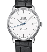 MIDO美度BARONCELLI永恆系列機械錶(M0274071601000)白面/皮帶/39mm