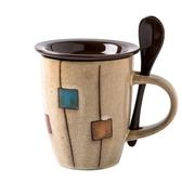 創意陶瓷杯復古個性馬克杯簡約杯子