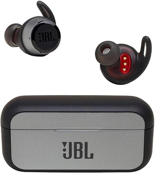 【日本代購】JBL REFLECT FLOW 無線耳機 連續播放約10小時/IPX7防水/藍牙功能/搭載有通訊功能 黑色