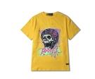 FINDSENSE H1夏季 新款 日本 嘻哈 搖滾  塗鴉印花  時尚 寬鬆