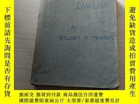 二手書博民逛書店CORRECT罕見ENGLISHby WILLIAM. M TANNERY384780