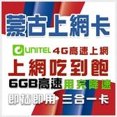 蒙古網路卡 蒙古國 6Gb高流量 4G網卡網路卡 烏蘭巴托網路 unitel電信 小資旅行