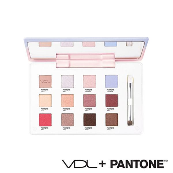 VDL × PANTONE 聯名系列 12色眼影盤 9.6g 2016限量版 NO.5 眼影盤