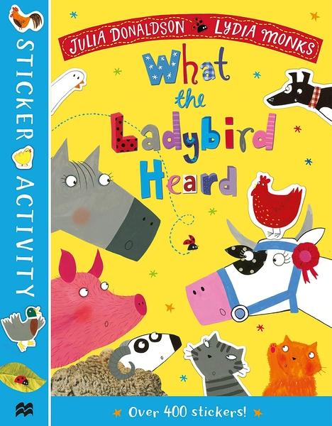 What The Ladybird Heard Sticker Activity Book 瓢蟲的農場守護記貼紙書