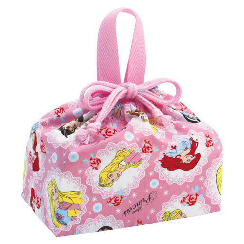 ★funbox生活用品★《SKATER》迪士尼公主棉質縮口便當袋 AT21988