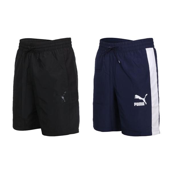 PUMA 男8吋短風褲(五分褲 慢跑 路跑 歐規 防風 平織 透氣≡體院≡ 597686