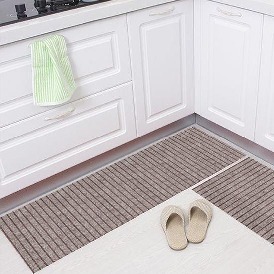 地墊 腳墊 長款 腳踏墊 防滑墊 地毯 排水墊 門墊 刮泥墊 玄關 條紋防滑地墊【V037】MY COLOR
