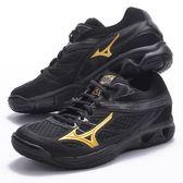樂買網 MIZUNO 18SS 男款 排羽球鞋 THUNDER-BLADE V1GA177050 黑x金