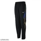 MIZUNO 男裝 長褲 套裝 吸汗快乾 抗紫外線 拉鍊口袋 黑藍【運動世界】32TD053592