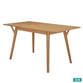 ◎木質餐桌 FILLN3 伸縮式餐桌 150 LBR NITORI宜得利家居