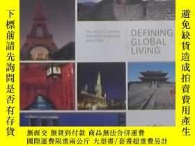 二手書博民逛書店英文原版罕見Defining Global LivingY140