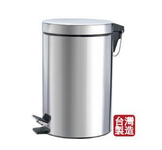 (促銷)]時尚不銹鋼垃圾桶3.5L 原價399