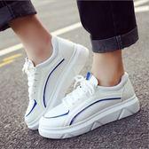 【雙11】秋鞋女新款百搭正韓學生鞋子夏季增高小白鞋秋季厚底運動白鞋免300