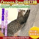 【培菓平價寵物網】Omega Paw 加拿大貓咪系列》貓打牆-地毯貓草精油抓板