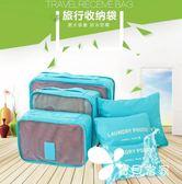 旅行收納袋套裝 整理袋收納包出差洗漱化妝包