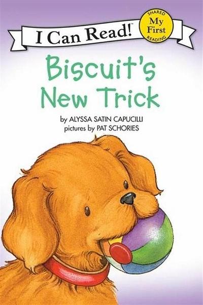 (二手書)An I Can Read Book My First Reading: Biscuit's New Trick