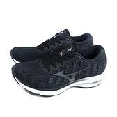 美津濃 Mizuno WAVE RIDER 25 慢跑鞋 運動鞋 黑色 女鞋 JIGD217590 no145
