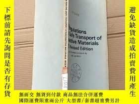 二手書博民逛書店regulations罕見for the safe transport of radioactive materi