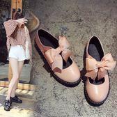 lolita小皮鞋軟妹女鞋厚底日系瑪麗珍女單鞋可愛圓頭學生娃娃鞋  極有家