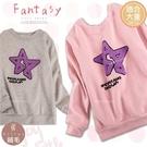 (大童款-女)新年-手搖毛線造型星上衣(厚棉,內絨毛)禦寒保暖-2色(300825)【水娃娃時尚童裝】