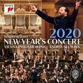 【停看聽音響唱片】【CD】2片裝CD 尼爾森斯&維也納愛樂 / 2020維也納新年音樂會