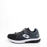Lotto  SPEEDRIDE 雙密度跑鞋 兒童慢跑鞋-黑 LT8AKR8010