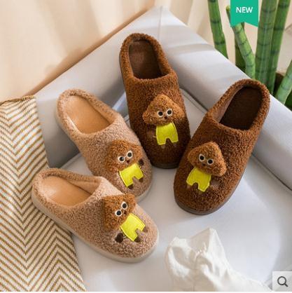 新款秋冬季棉拖鞋女家用室內家居可愛厚底防滑月子毛絨春季新品