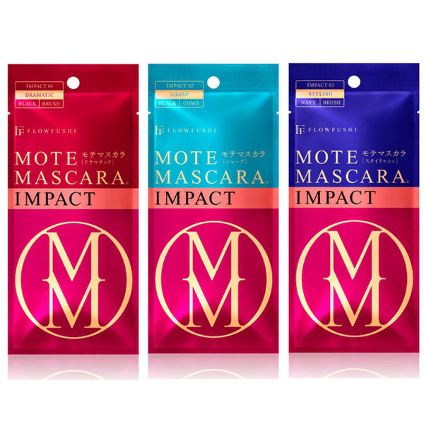 【日本 FLOW FUSHI】2017最新 MOTE MASCARA 睫毛膏 IMPACT系列 三款任選 現貨