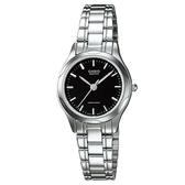 【CASIO】素雅大方指針設計腕錶-羅馬黑面(LTP-1275D-1A)