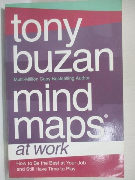 【書寶二手書T7/大學理工醫_KH8】Mind Maps At Work_Tony Buzan